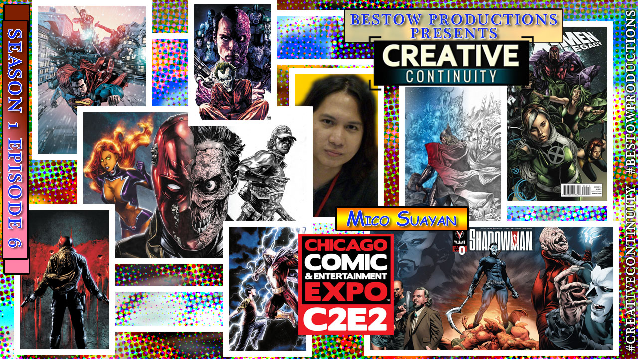 Bestow Productions | Creative Continuity | S1E6 Mico Suayan